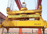 Custom Color Container Lifting Spreader Bar With Robust Reliable Telescopic System