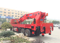 High Durability Truck Mounted Knuckle Boom Crane with Small Foundation